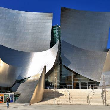 Fachada de Acero Inoxidable del Walt Disney Concert Hall