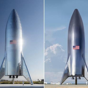 Elon Musk crea Un Cohete de Acero Inoxidable